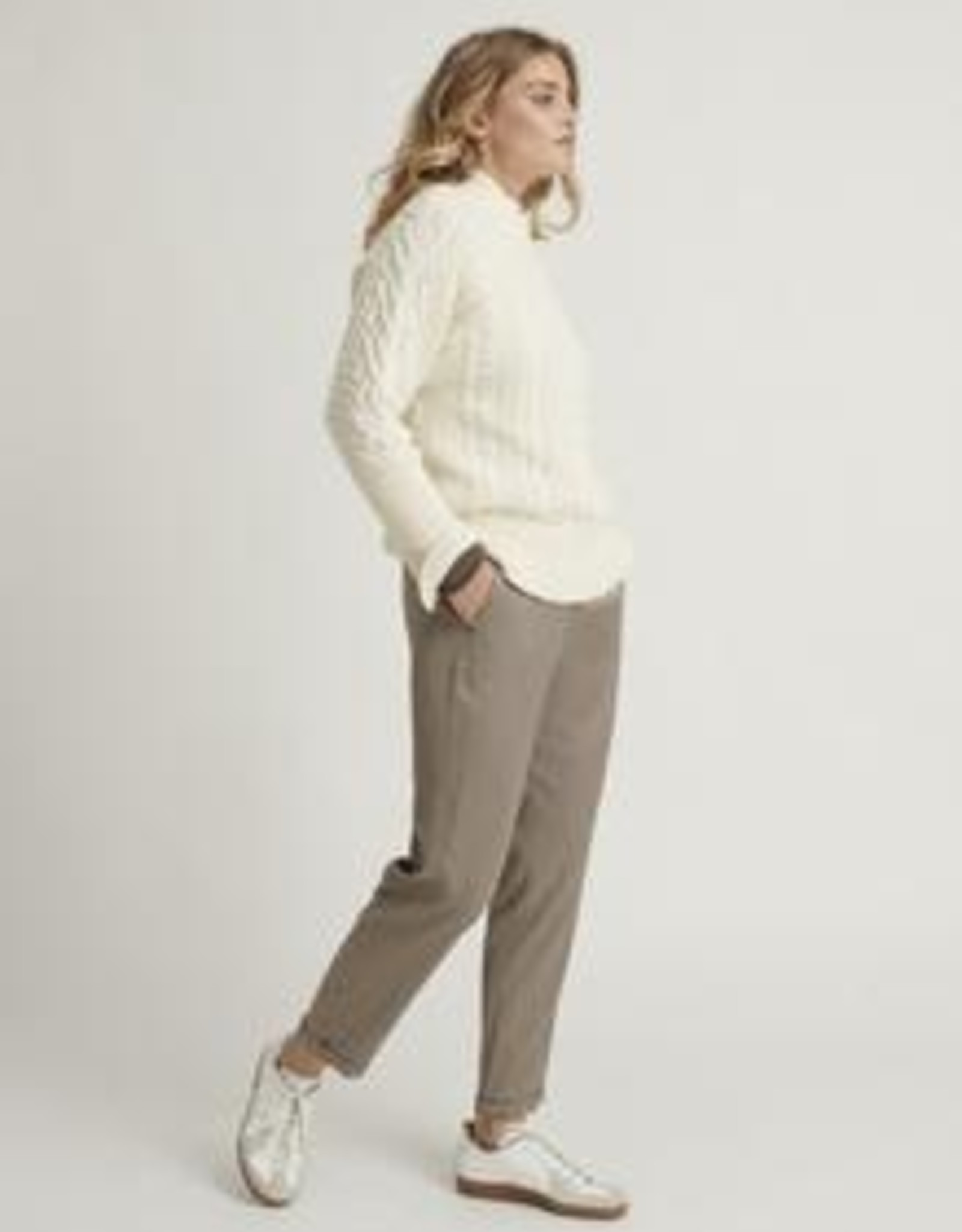 Bellamy Pullover Cashmiere Noortje Cable Off White
