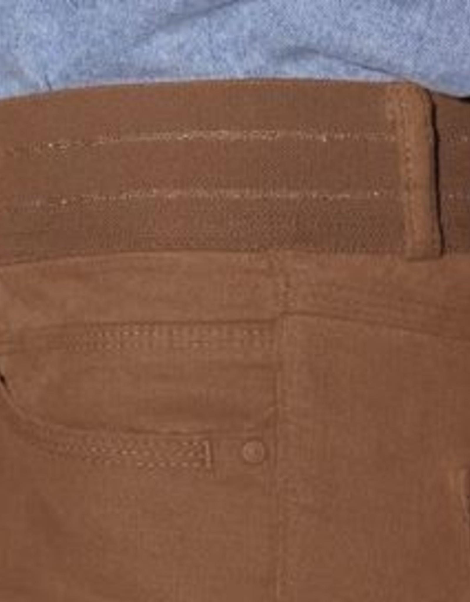 Para MI Pantalon Celine Elastic Velvet Camel