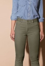 Para MI Pantalon Celine Elastic Velvet Shade Green