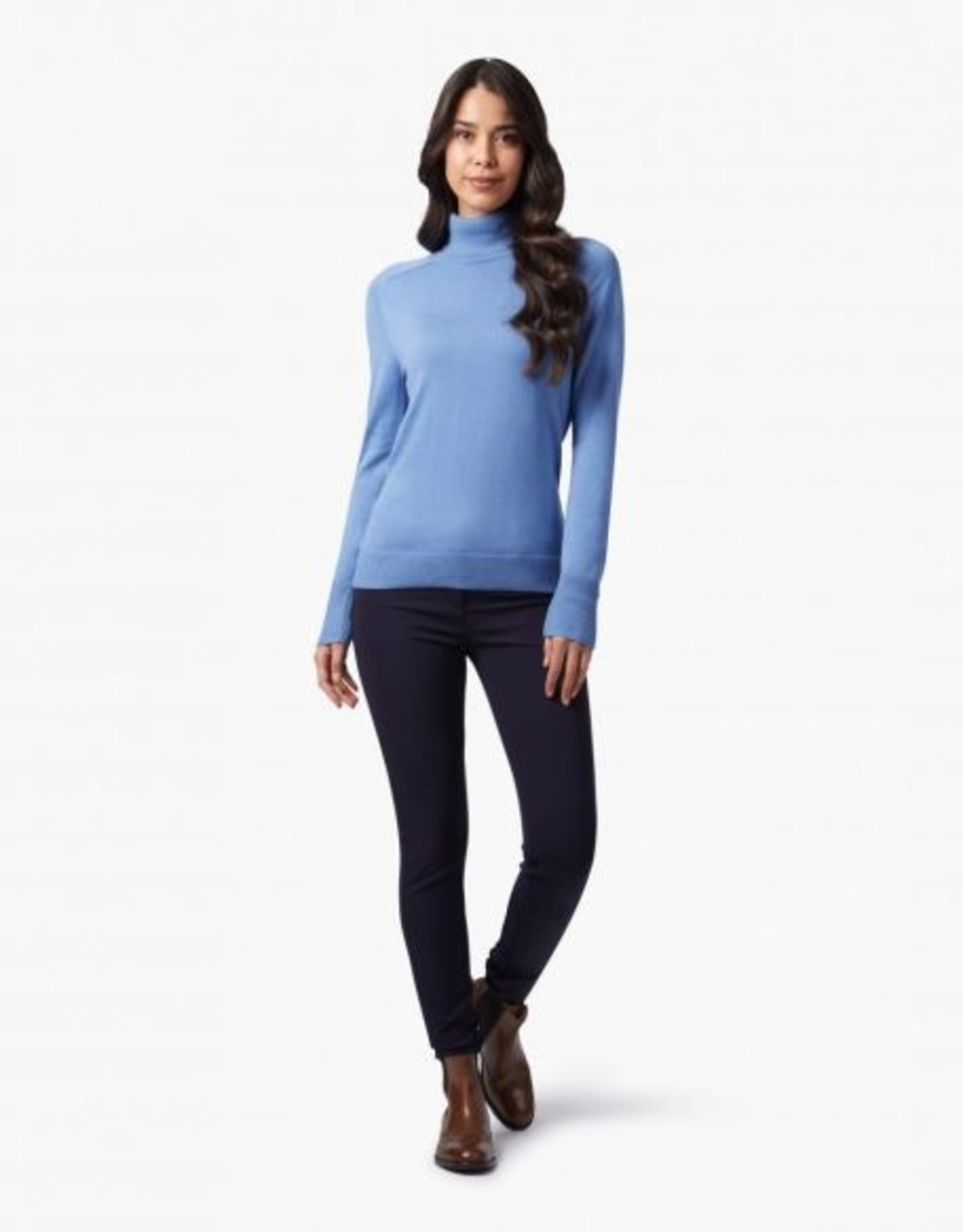 Cavallaro Pullover Sabina Col Violet Blue