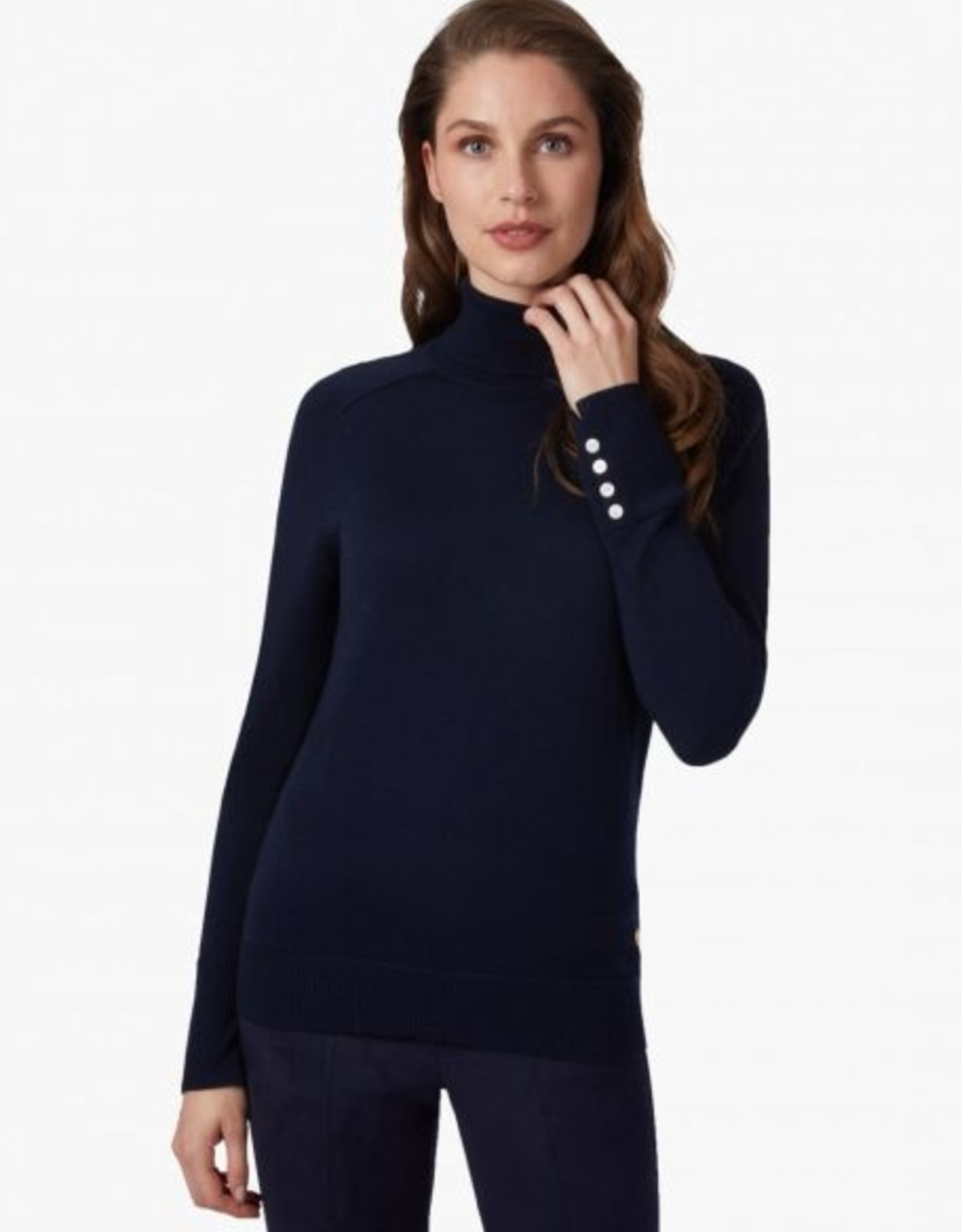 Cavallaro Pullover Sabina Col Dark Blue