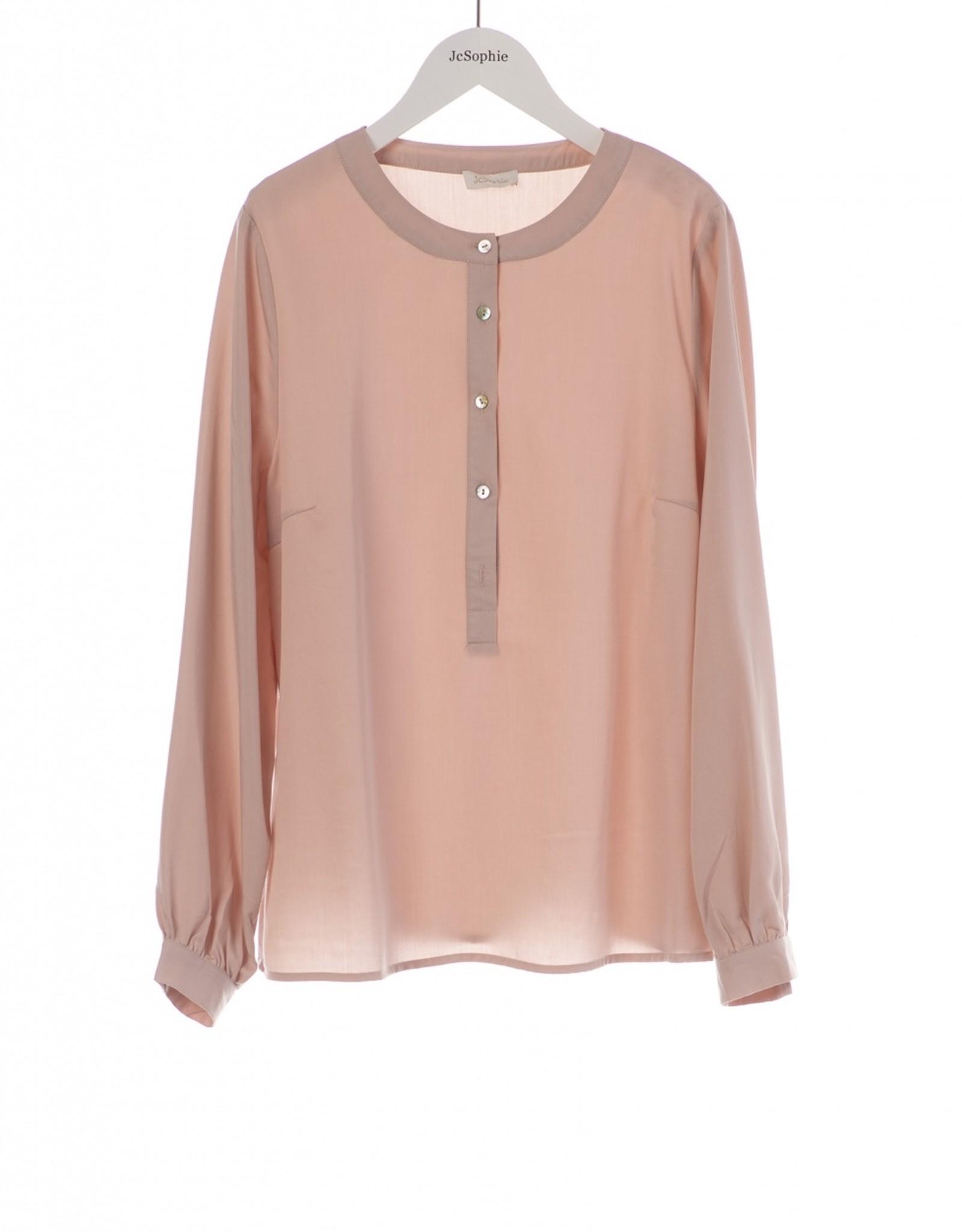 JcSophie Blouse Kensington Blush Pink