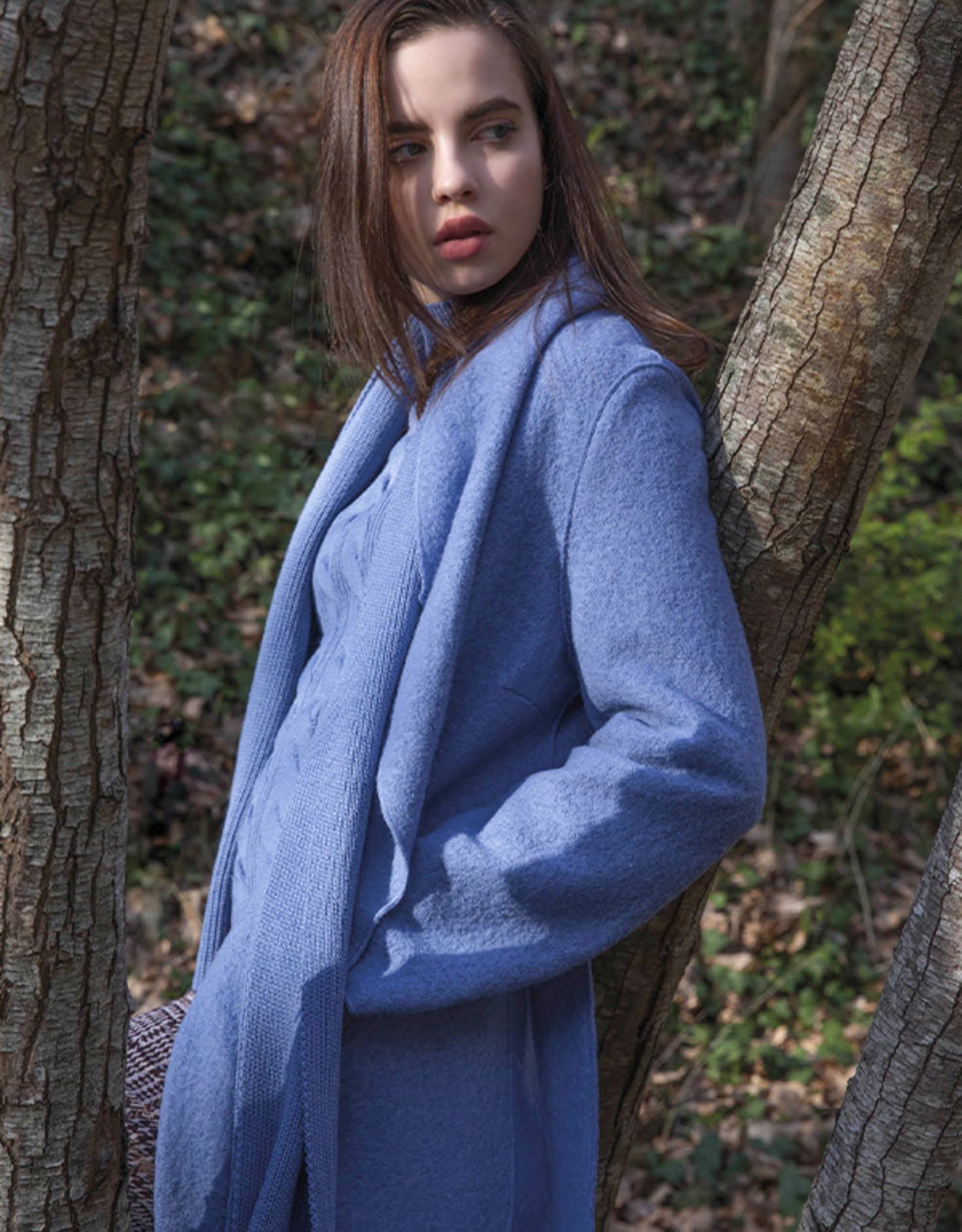 Maria Bellentani Mantel Ciel Bleu