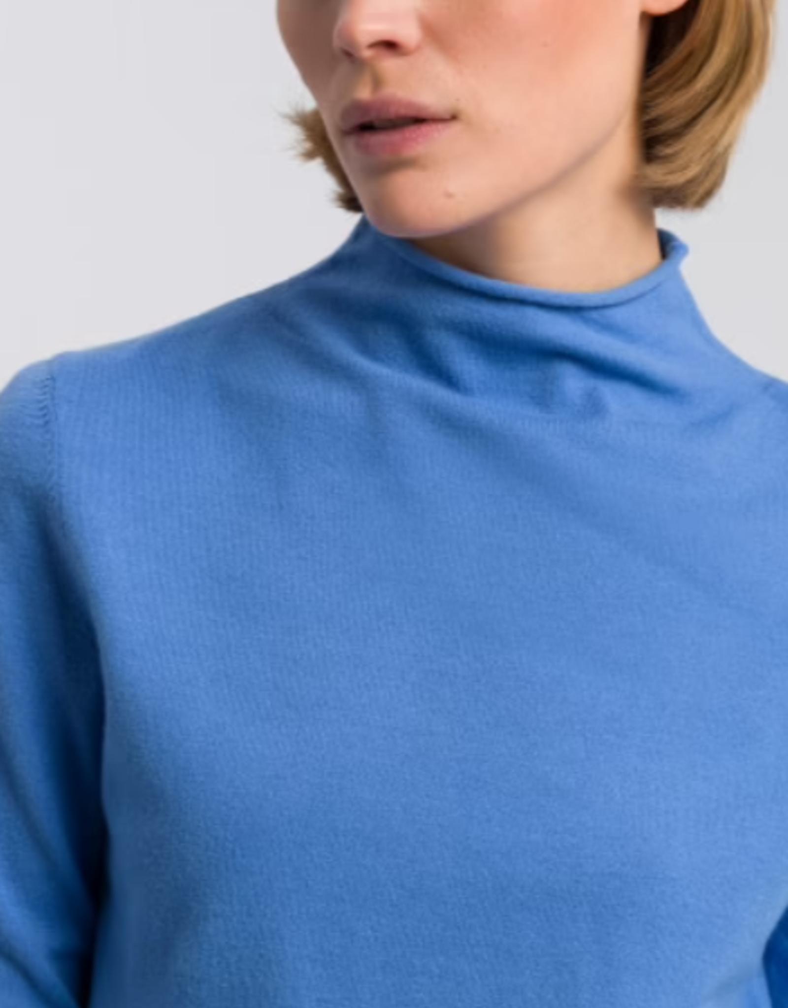Marc Aurel Pullover Turtle Chiel Blue Basic