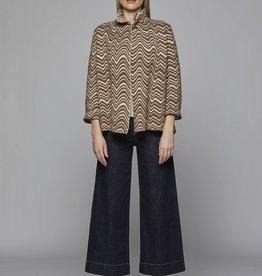 LaSalle Vest Twist Camel/Rose
