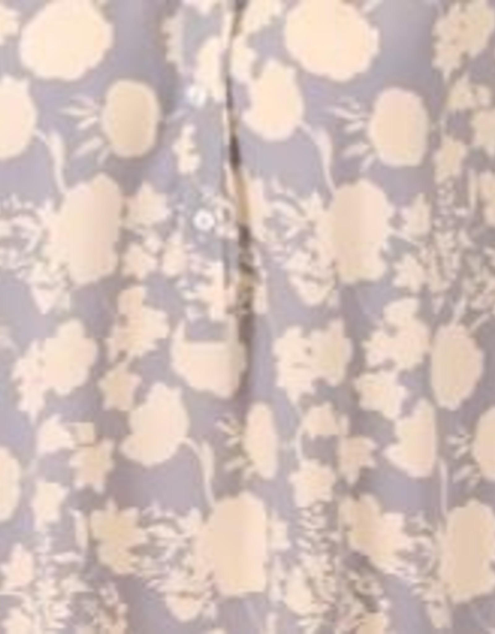 JcSophie Blouse Kimber Blue Gardenia