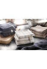 Twentse Damast 100% Katoenen Keukentextiel Mix&Match Antraciet - 60x65 & 50x55
