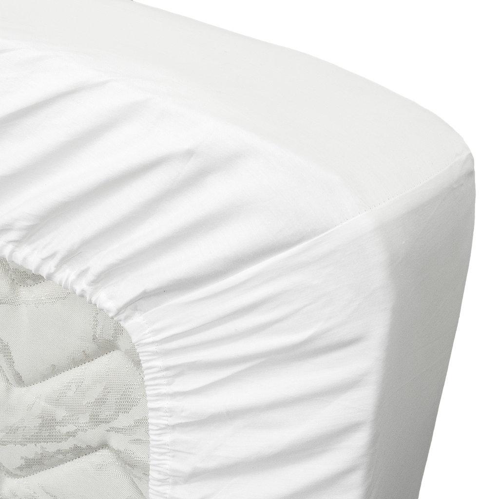 Ten Cate Home 100% Katoen Satijnen Hoeslaken - Wit
