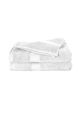 Twentse Damast 100% Katoenen Handdoekenset Wit