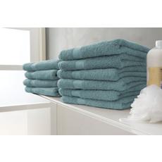 Twentse Damast 100% Katoenen Handdoekenset Aqua Groen