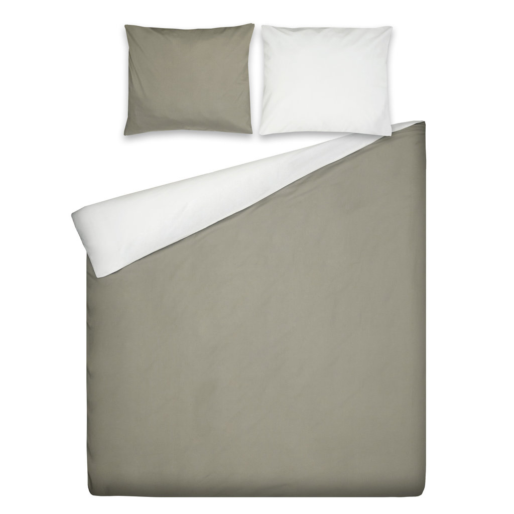Ten Cate Home 100% Katoenen Dekbedovertrek Marbella Taupe Naturel