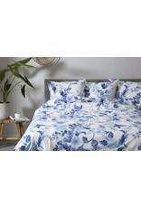 Ten Cate Home 100% Katoenen Dekbedovertrek Bloem Delftsblauw