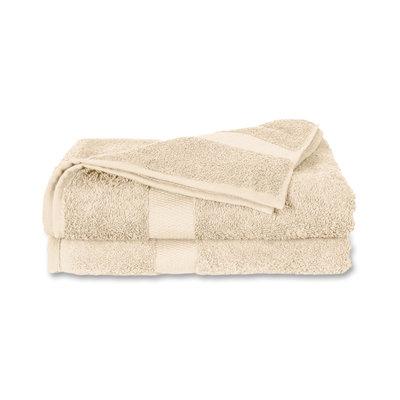 Twentse Damast 100% Katoenen Handdoekenset Naturel
