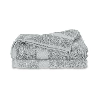 Twentse Damast 100% Katoenen Handdoekenset Grijs