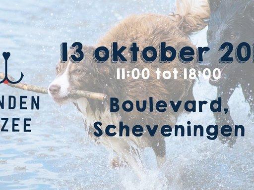 Honden aan Zee: 13 oktober  11:00-18:00 uur. Locatie: Scheveningen, Boulevard.