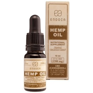 Endoca CBD Olie 15% CBD, 10 ml