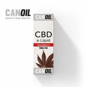 Canoil CBD E-liquid Strawberry 50 mg