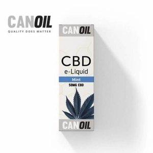 Canoil CBD E-liquid Mint, 50 mg CanOil