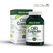 Medihemp CBD Capsules 30 stuks 12,5 mg, 375 mg Raw