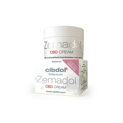 Cibdol Cibdol Zemadol CBD crème | Ondersteund bij eczeem