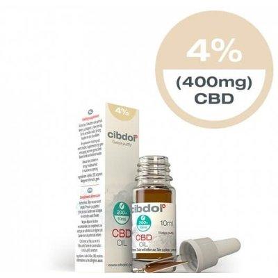 Cibdol Cibdol 4% CBD Olie 10ml Direct online bestellen?
