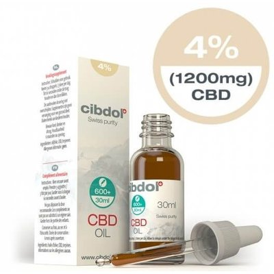 Cibdol Cibdol 4% CBD Olie 30ml Direct online bestellen! - Copy