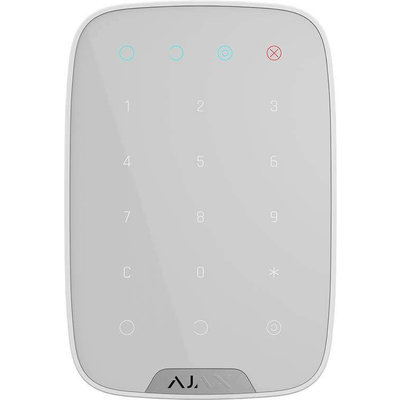 AJAX Draadloze bedienpaneel - Wit (AJAX Keypad)