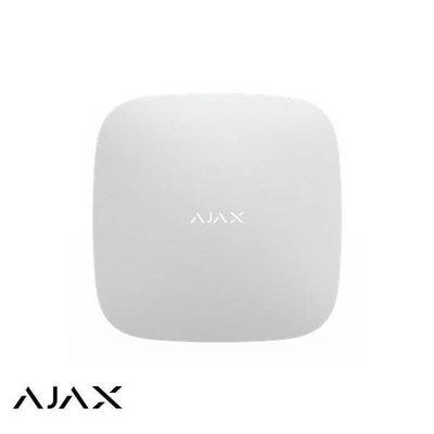 AJAX Draadloze alarmcentrale Wit met GSM en Netwerk AJAX HUB