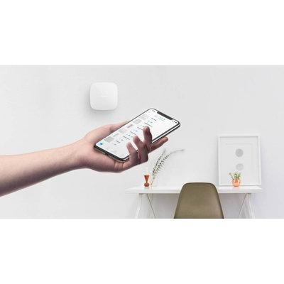AJAX Draadloze alarmcentrale Wit met GSM, Netwerk en WiFi AJ-HUBPLUS/W