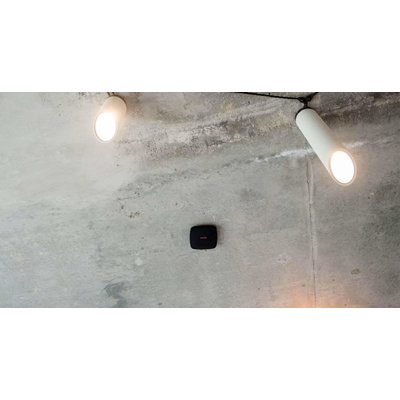 AJAX Draadloze rook en koolmonoxide melder - Zwart (AJ-FIREPLUS/Z)