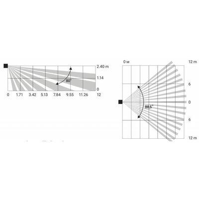AJAX Draadloze  bewegingsmelder met glasbreukmelder - ZWART (AJAX Combiprotect) AJ-COMBI/Z