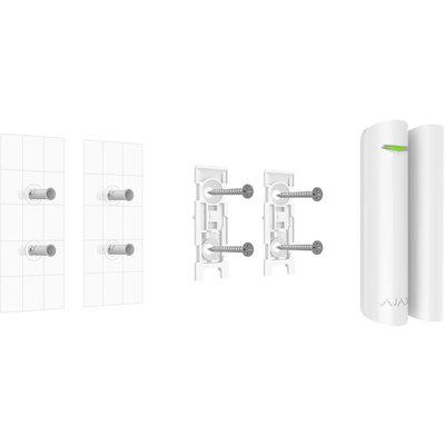 AJAX Draadloze deur/raam magneetcontact + schoksensor - Wit (AJ-DOORPLUS/W)