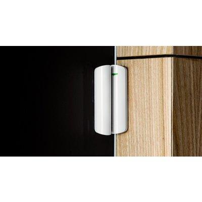 AJAX Draadloze deur/raam magneetcontact + schoksensor - Zwart (AJ-DOORPLUS/Z)