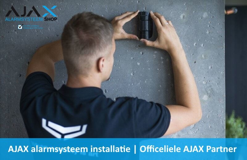Alarmcentrale draadloos installatie