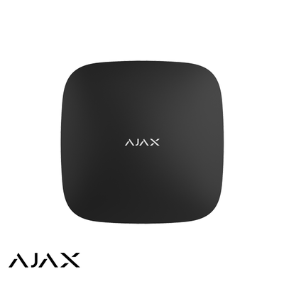 AJAX Draadloze signaalversterker Zwart Repeater (AJAX Rex)