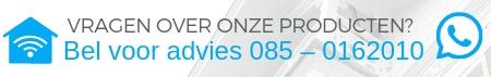 Draadloze bedienpaneel - Zwart (AJAX keypad) banner