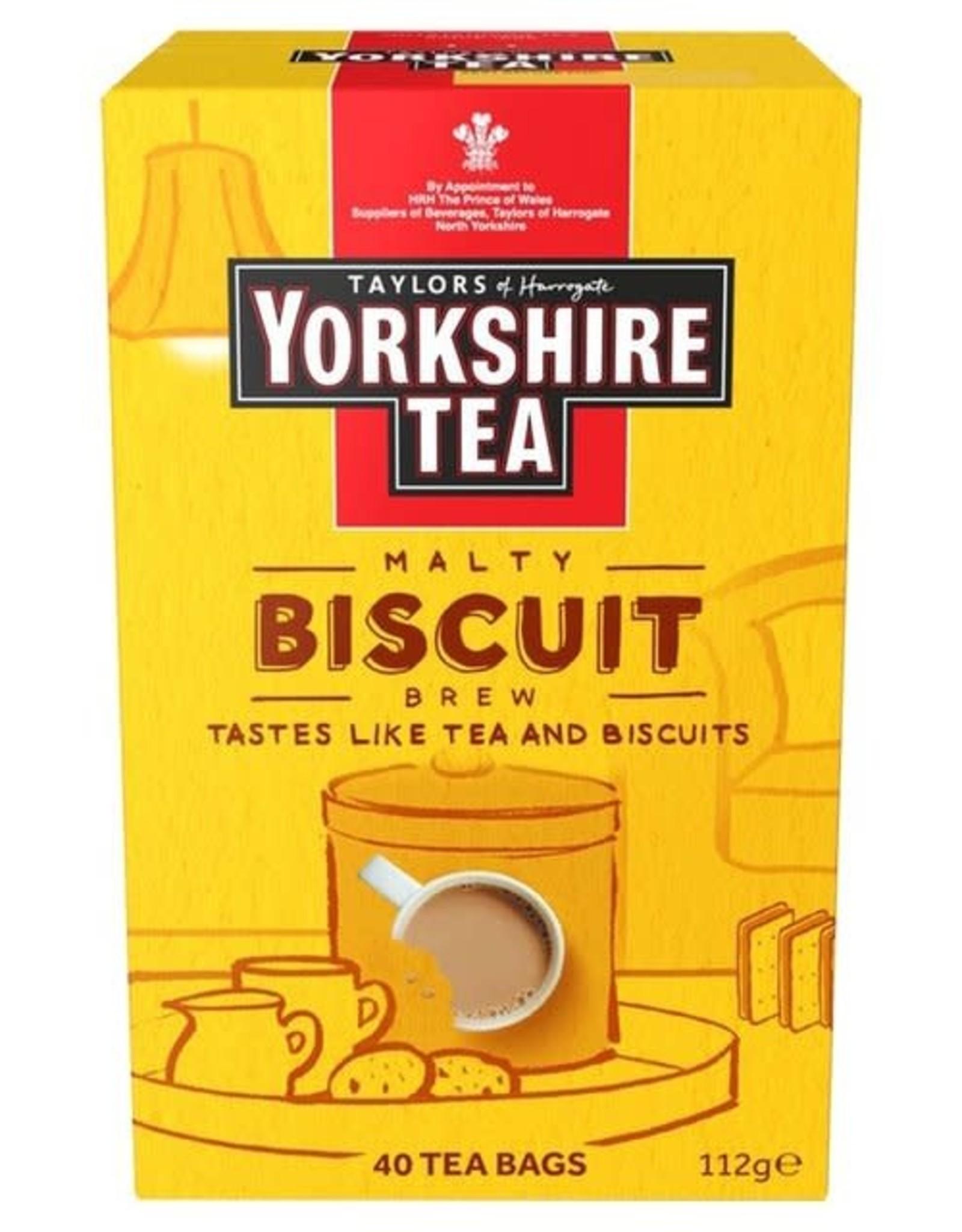 Yorkshire Yorkshire Tea Malty Biscuit 40's