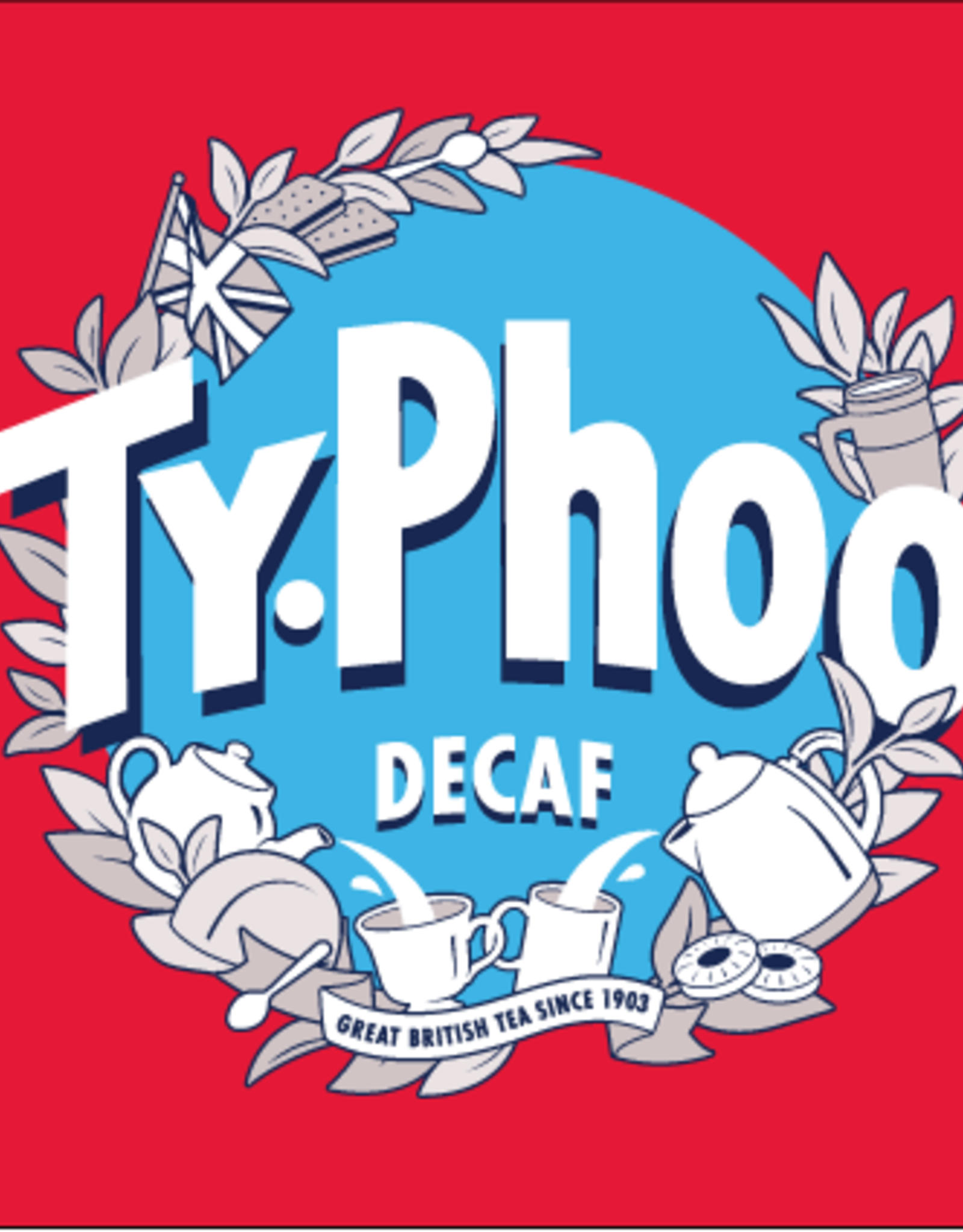 Typhoo Typhoo Decaf 80's