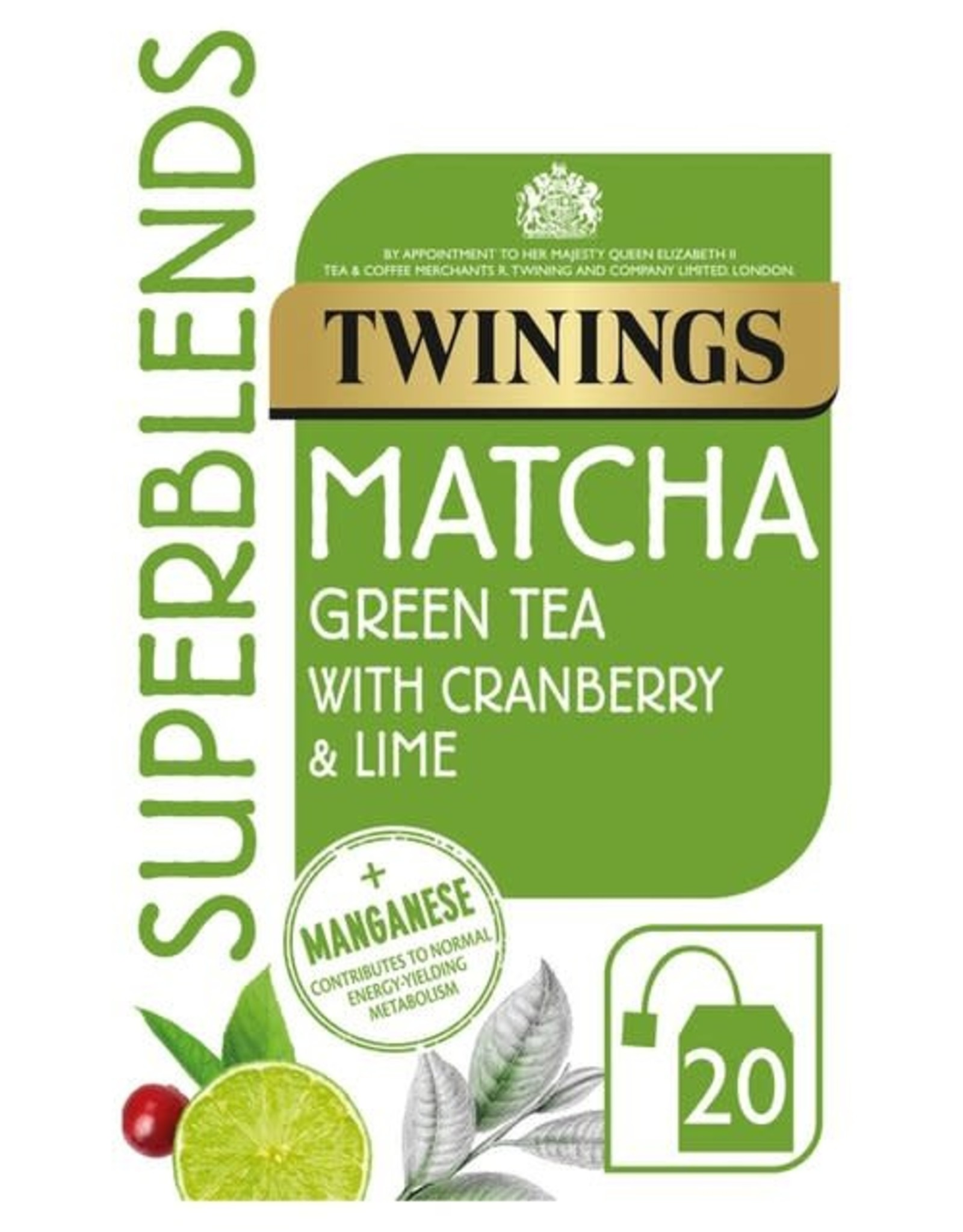 Twinings Twinings Matcha with Cranberry & Lime 20