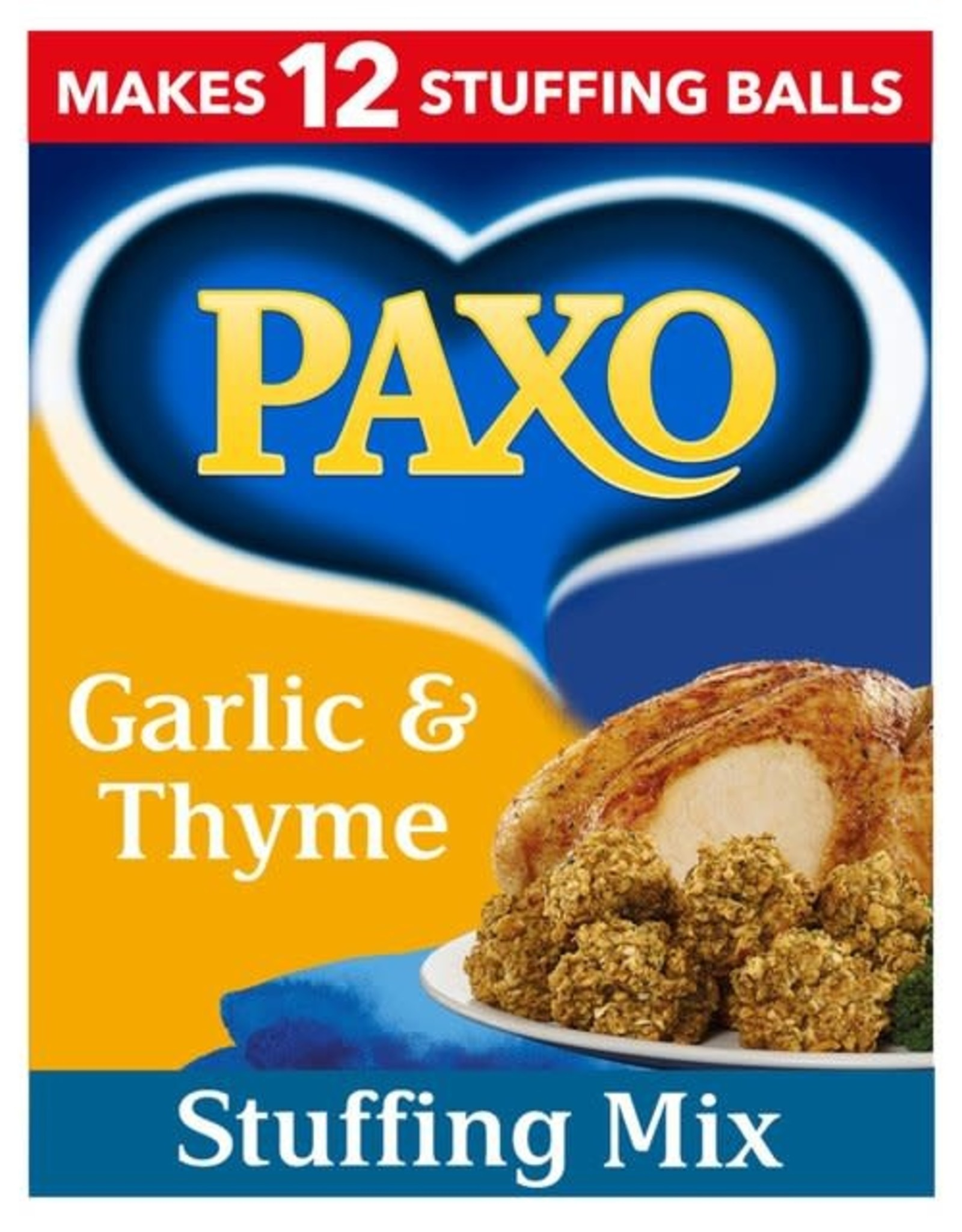 Paxo Paxo Garlic & Thyme Stuffing Mix 170 g