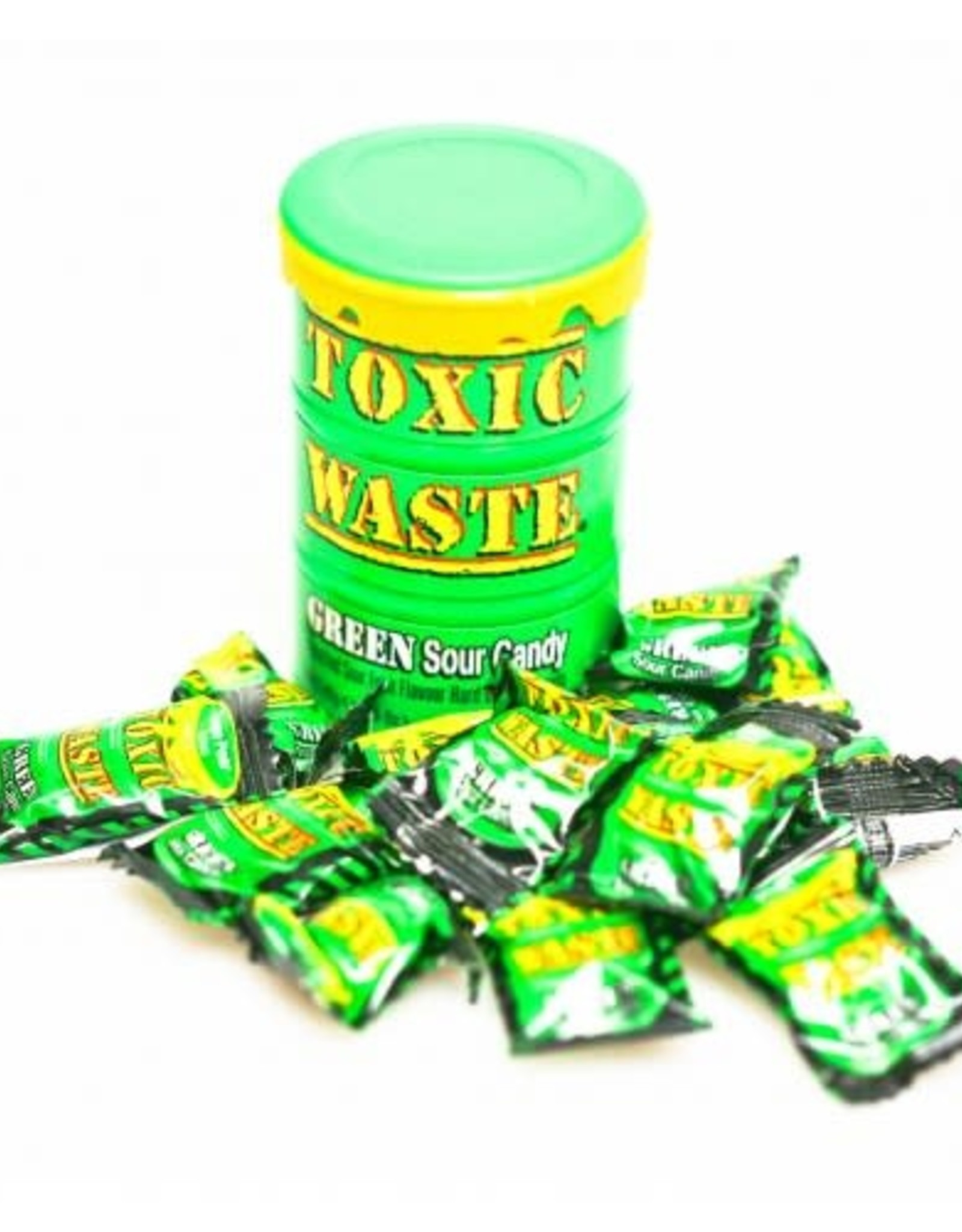 Candy Dynamics Toxic Waste Green Sour Candy