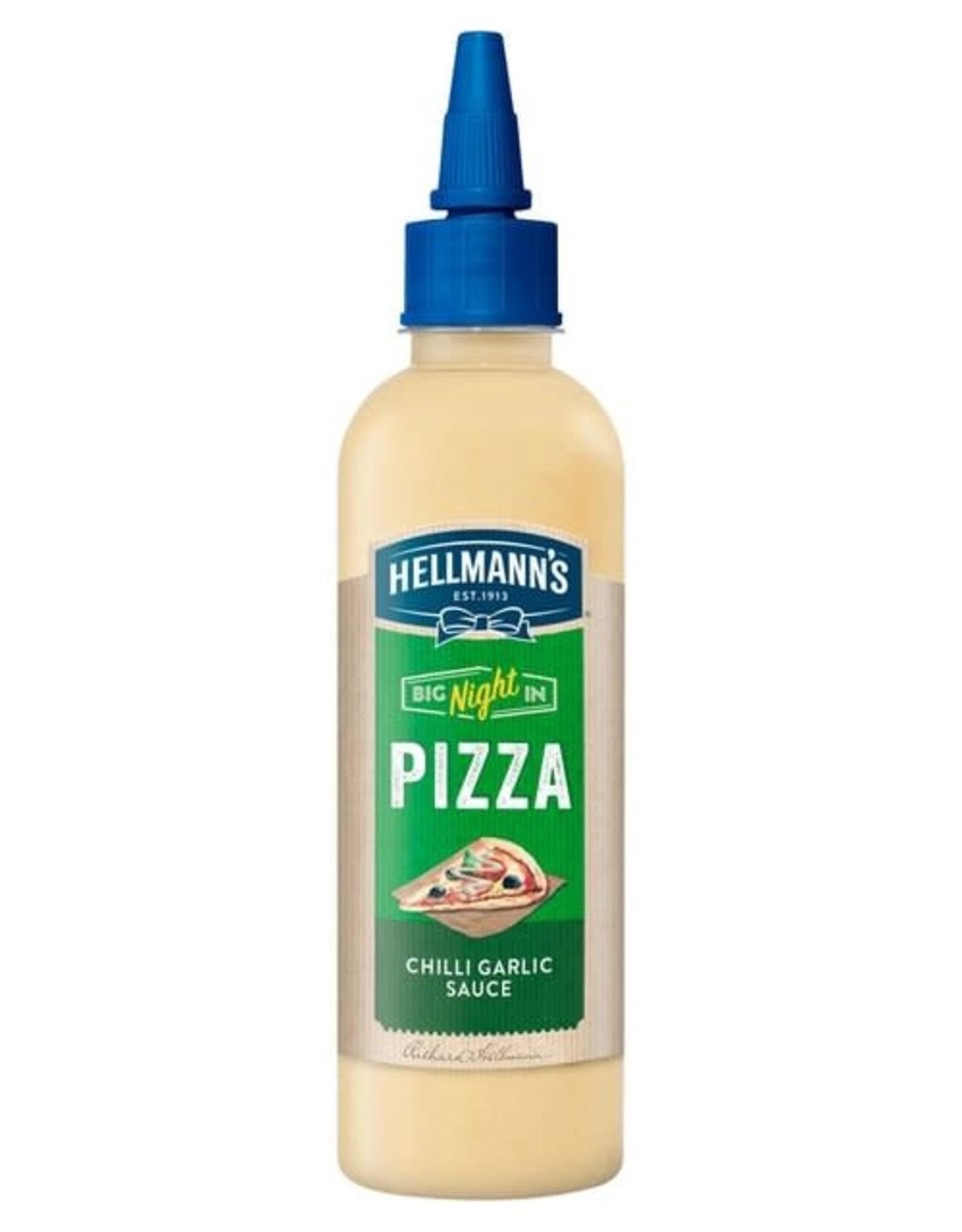 Hellmanns Hellmann's Pizza Chilli Garlic Sauce 216 g