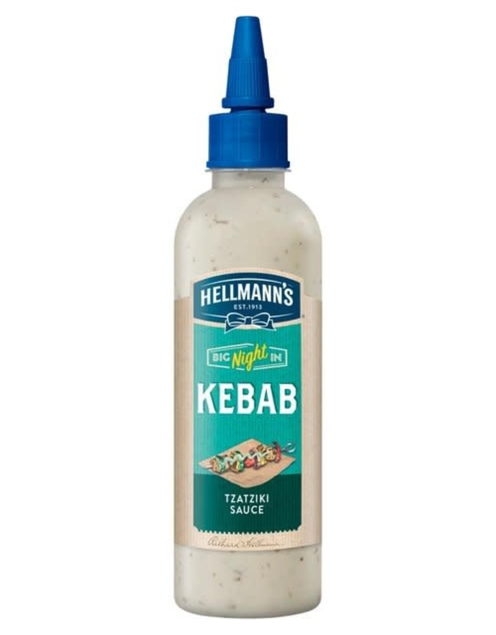 Hellmanns Hellmann's Kebab Tzatziki Sauce 216 g