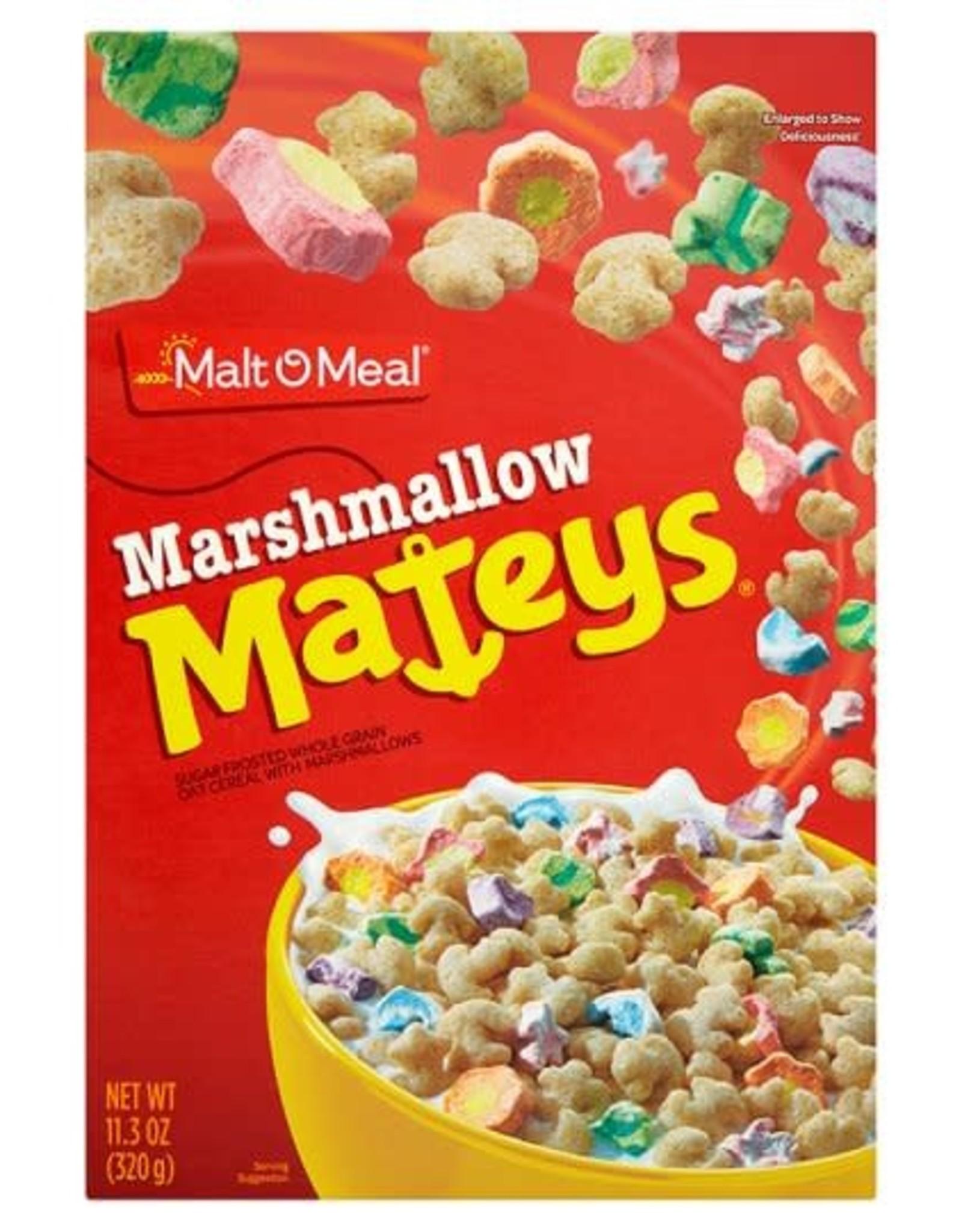 MaltOMeal Marshmallow Mateys