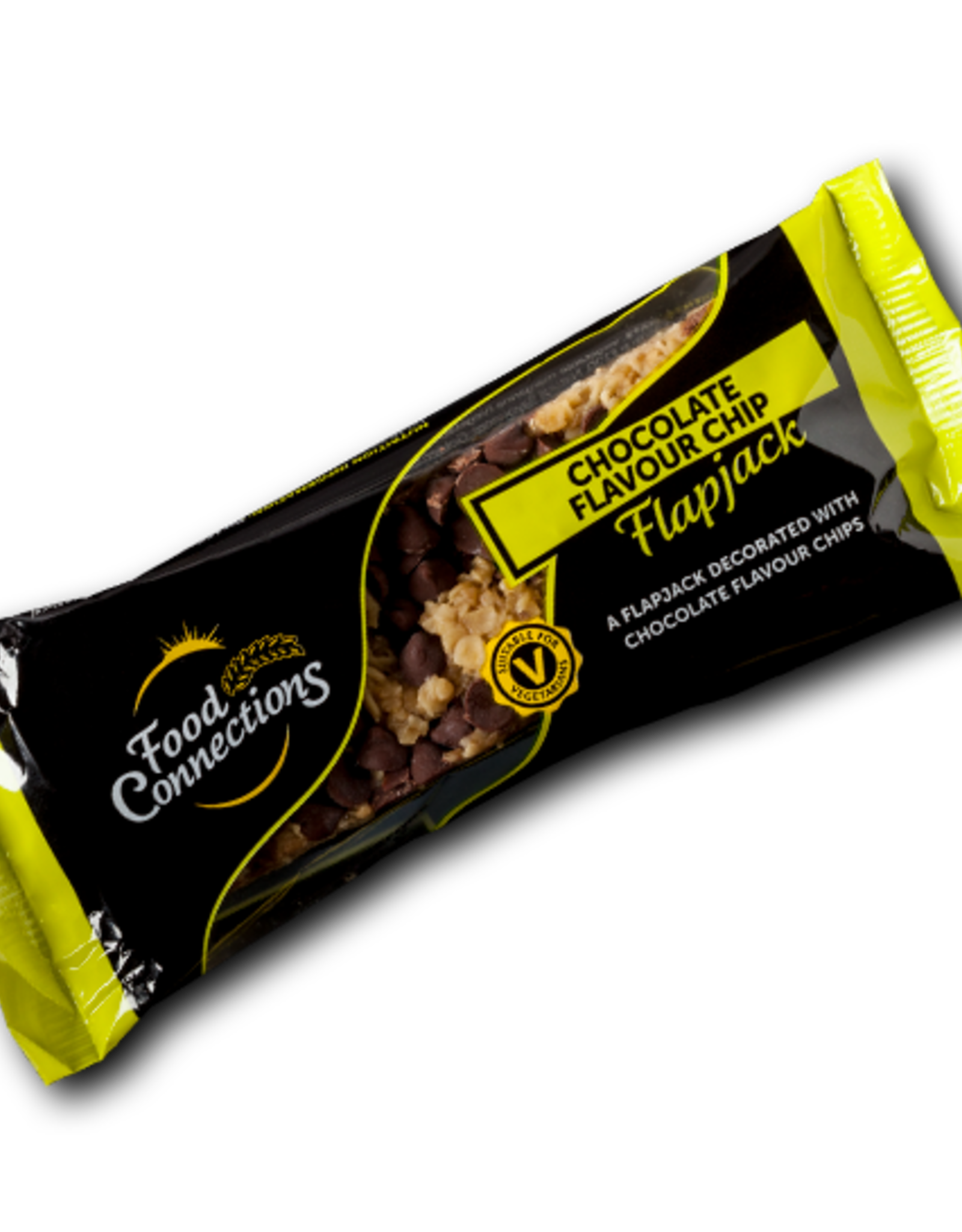 Food Connections Chocolate Flavour chip Flapjack