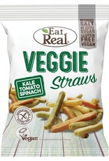 Eat Real Eat Real Veggie Straws Kale Tomato Spinach 22g