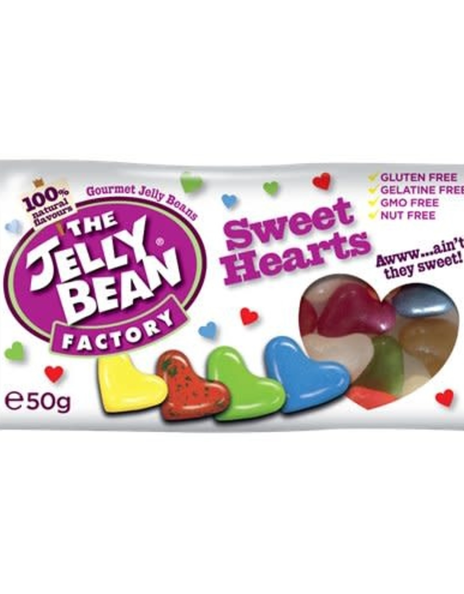 Jelly Bean Factory Jelly Bean Factory Sweet Hearts 50 g