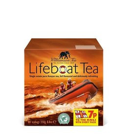 Williamson Tea Lifeboat Tea 80 Tea Bags