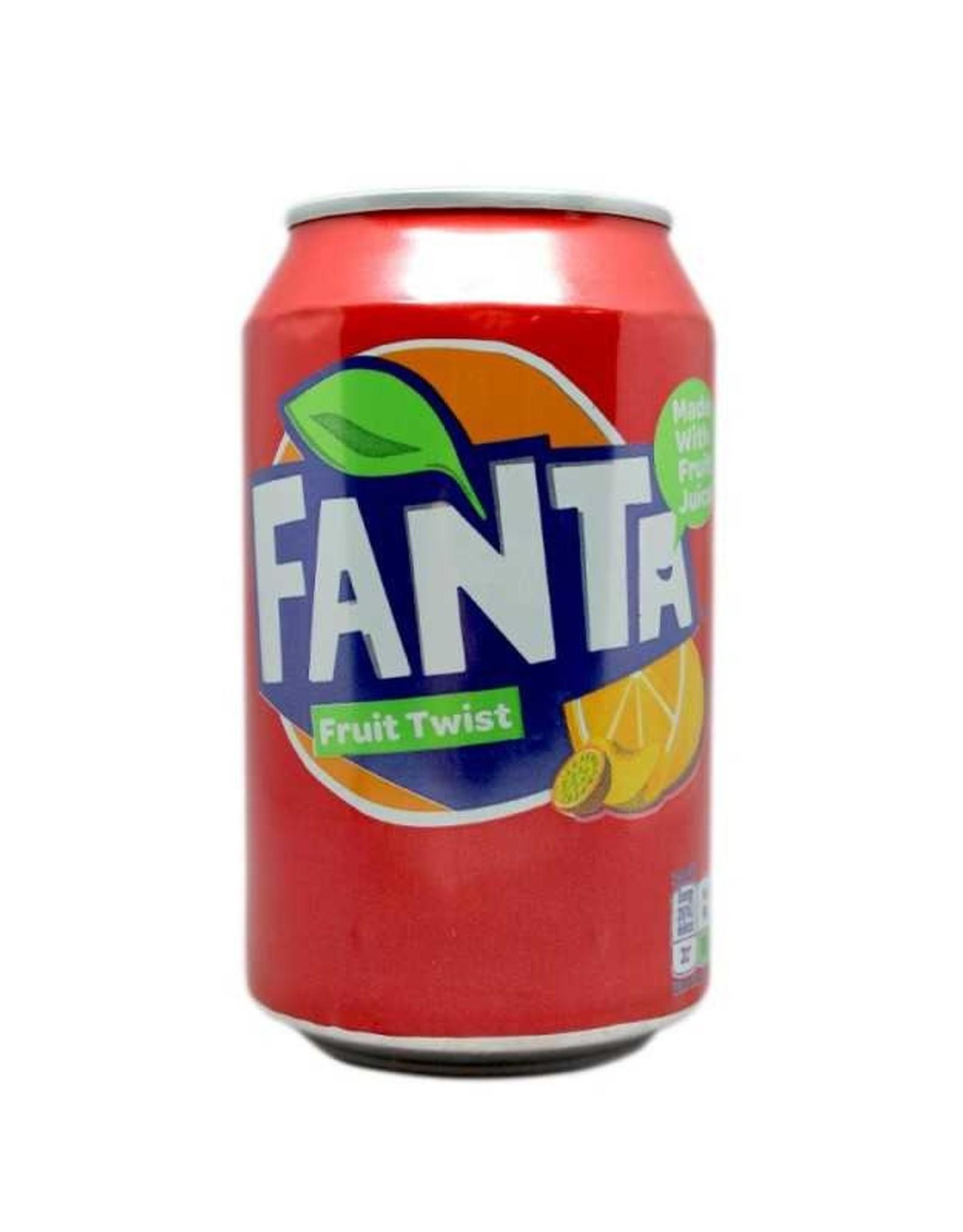 Coca Cola Fanta Fruit Twist 33 cl