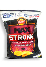 Walkers Walkers Max Strong Hot Chicken Wings 50 g